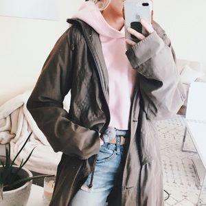 Jackets & Blazers - Brown/Olive Coat
